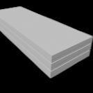 ГКЛ КНАУФ 9,5мм 1,2х2,5м потолочный