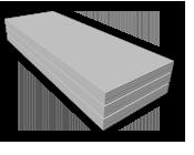 ГКЛ влагостойкий КНАУФ 9,5мм потолочный 1,2х2,5м