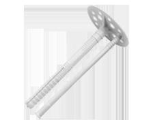Дюбель для теплоизоляции КI -110 мет. гвоздь (1000шт/уп)