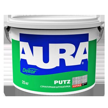 Структурная штукатурка Aura Dekor Putz декор Короед 3мм