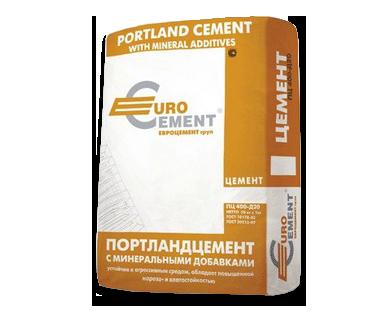 Цемент ПЦ М-400 Д20 50кг