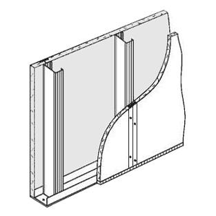 Стекломагниевый лист для монтажа перегородок