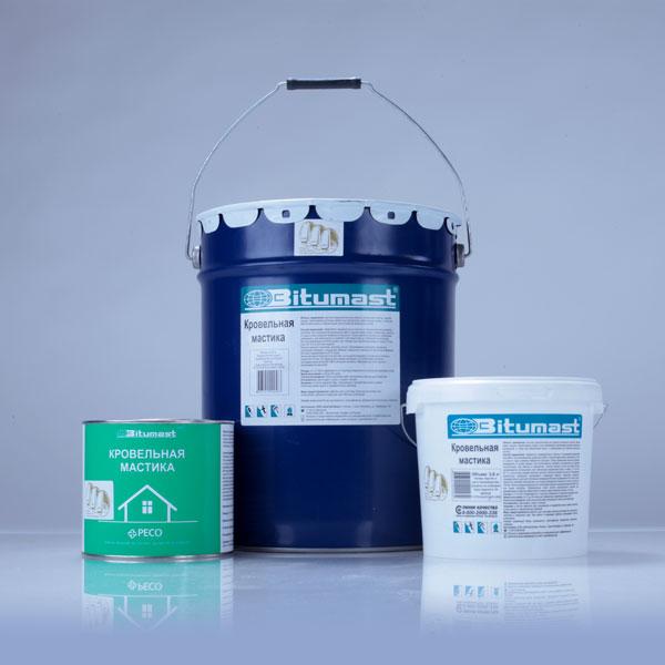 Кровельная мастика Bitumast 18 кг/ 21,5 л