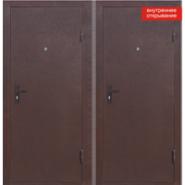 Металлическая дверь СтройГост 5-1 металл-металл 2060×980 мм