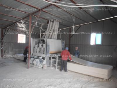 Производство СМЛ - шлифовка листов