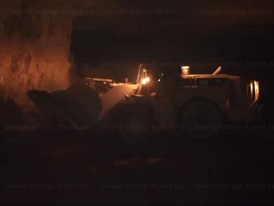 Добыча сырья для СМЛ, магнезита шахтным способом