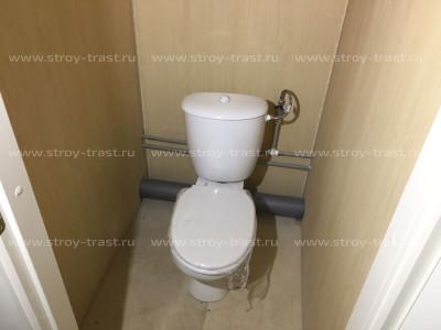 Бытовка мобильного отдела продаж из 5 блоков (комнаты переговоров, зал, туалеты и душевая)