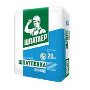 Сухая смесь шпатлевочная полимерная Шпатлер Финиш 20 кг