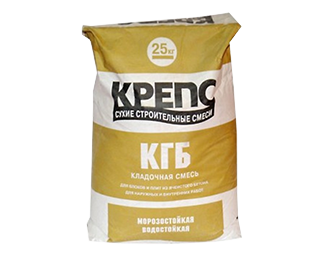 Кладочная смесь Крепс КГБ (25 кг)