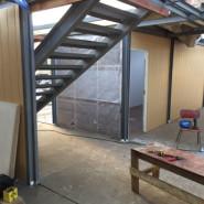 СтройТраст продолжает монтаж модульных конструкций СК Молния