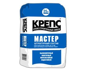 Штукатурка КРЕПС Мастер 25кг