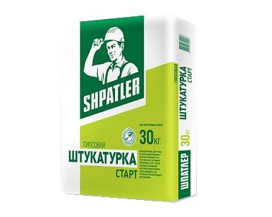 Штукатурка ШПАТЛЕР Старт гипсовая 30 кг