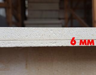 Стекломагниевый лист (СМЛ) Эталон 6 мм 6х1220х2440