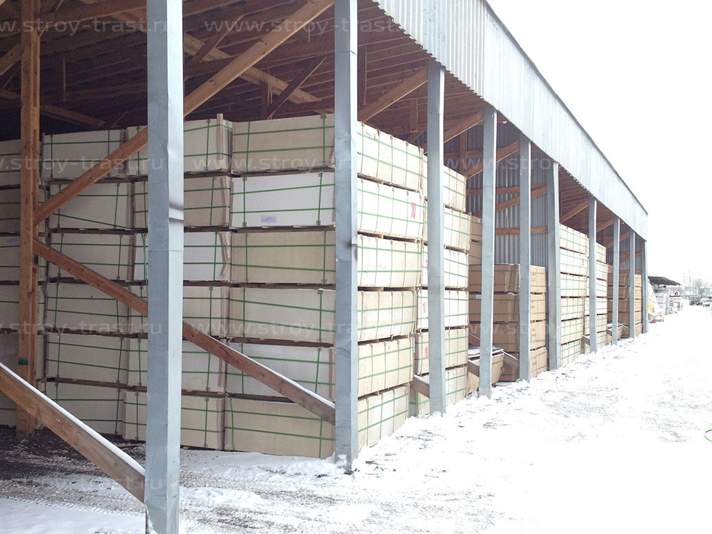 Крупное поступление СМЛ 10 мм на склад СтройТраст в Санкт-Петербурге
