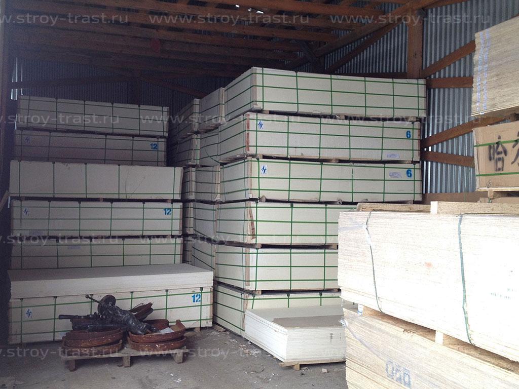 Стекло-магниевый лист 6 мм и 12 мм — теперь всегда в наличии на нашем складе!