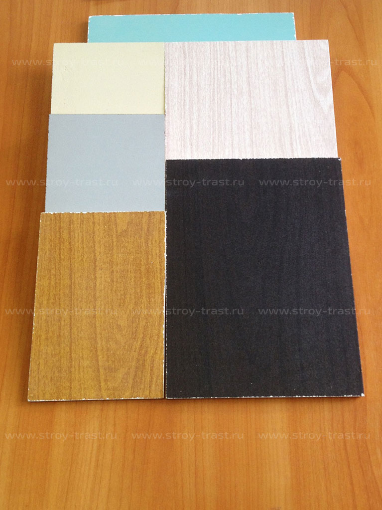 Осуществляем поставку на заказ СМЛ с окраской и текстурными покрытиями