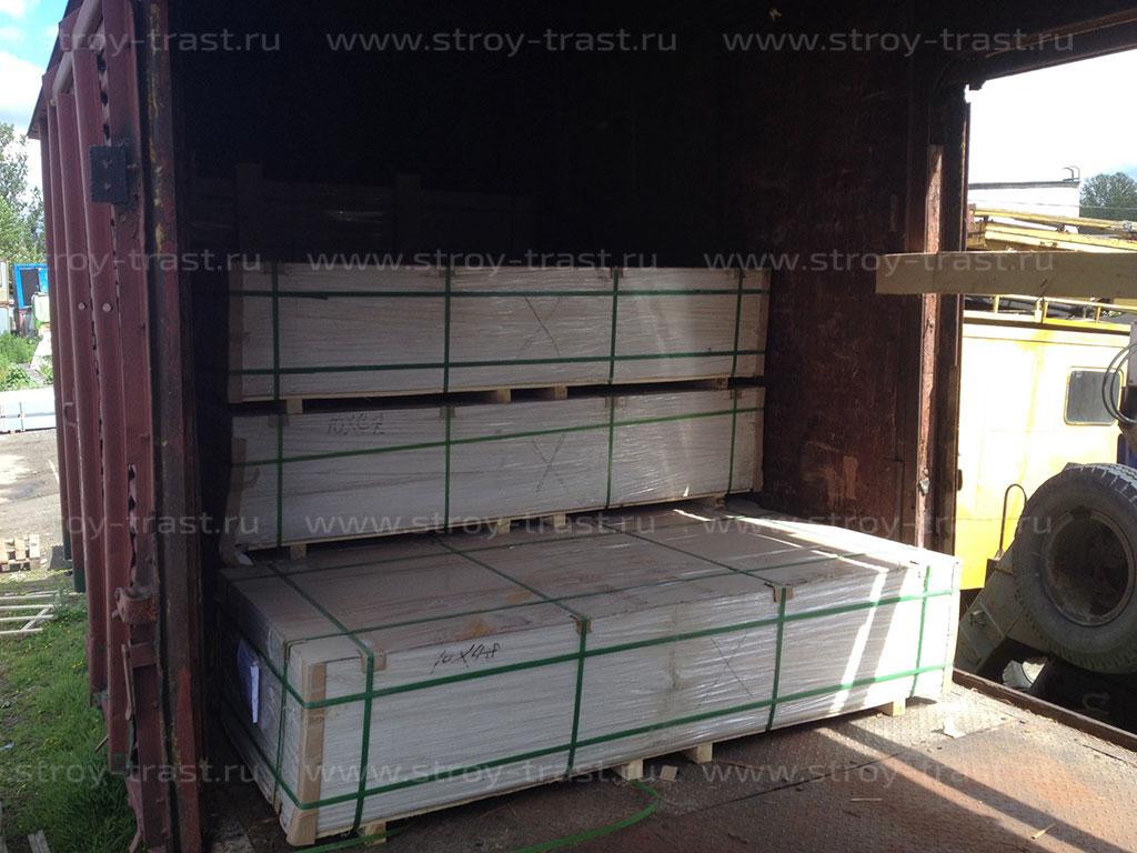 Поступление крупной парии СМЛ Премиум 10 мм на склад в СПб