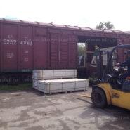 Поступление стекломагниевого листа 8 и 10 мм премиум на склад в СПб