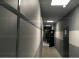 Декоративные негорючие стеновые СМЛ - панели для внутренней отделки нашего офисного здания
