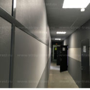 Декоративные негорючие стеновые СМЛ — панели для внутренней отделки нашего офисного здания