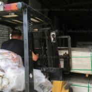 На склад в Санкт-Петербурге поступил стекломагниевый лист 3мм