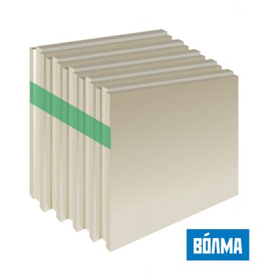 Пазогребневая плита влагостойкая ПГПВ Волма Полнотелая 80 мм