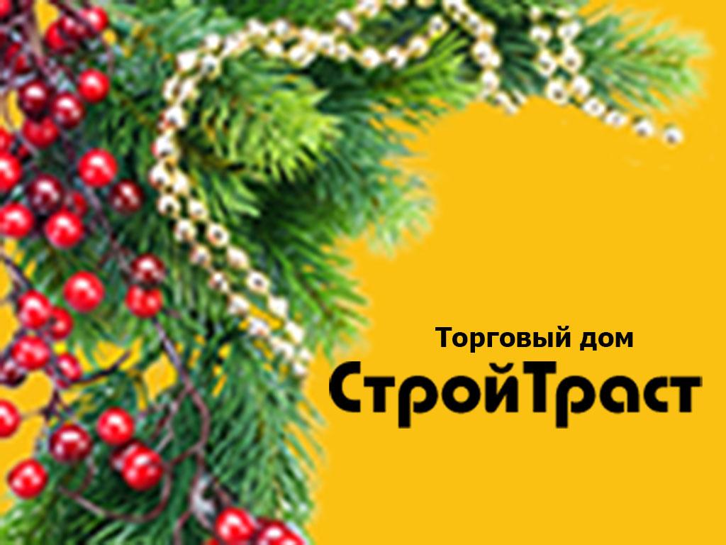 ТД СтройТраст поздравляет с Новым годом и Рождеством!