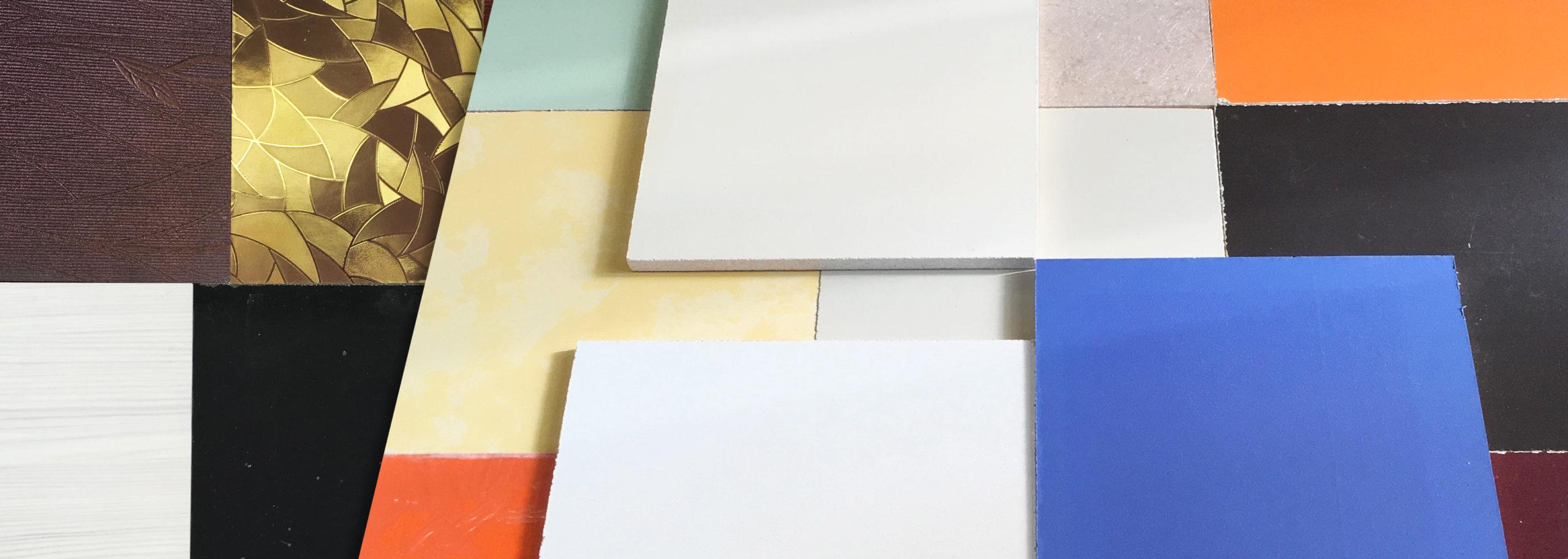 Окраска декоративных панелей по каталогам RAL, NCS, Tikkurila, Caparol